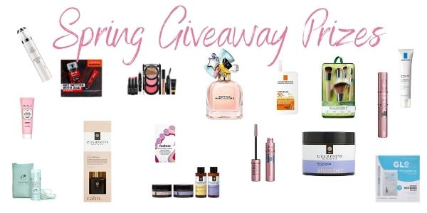 Spring Giveaway Prizes