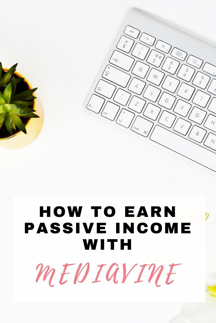 passive income with Mediavine