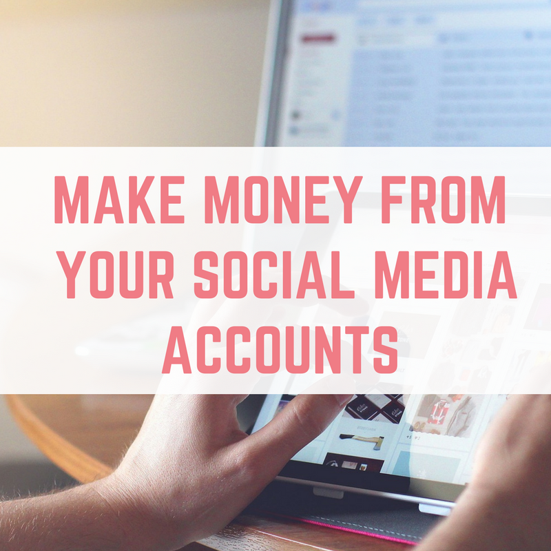 get paid for social media posts