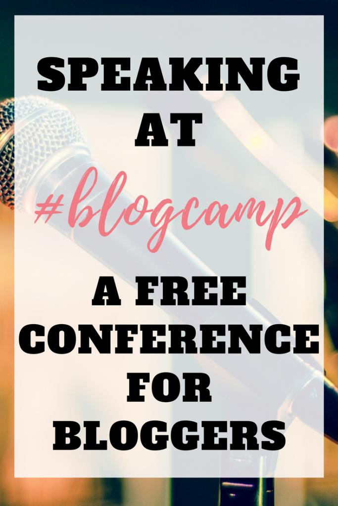 Speaking at Blog Camp